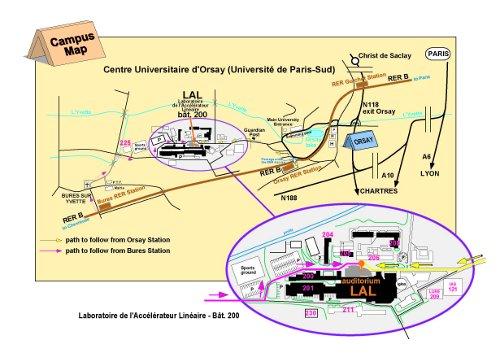 campus map u-psud